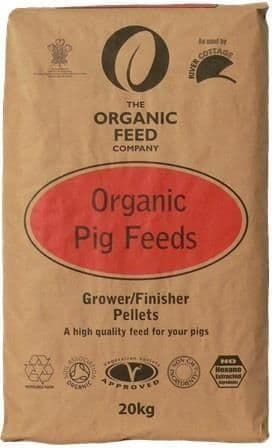 A & p organic pig grower finisher